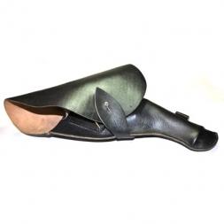 Кобура для револьвера «Наган» сувенирная (кожа, черный)
